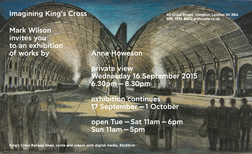 INVITE Cross Street gallery Anne Howeson invite